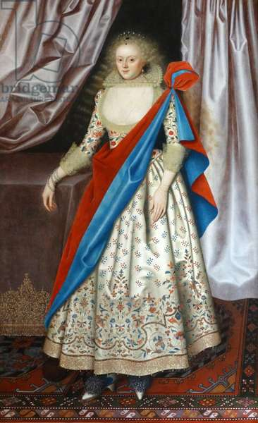 Portrait of Lady Isabella Rich by William Larkin