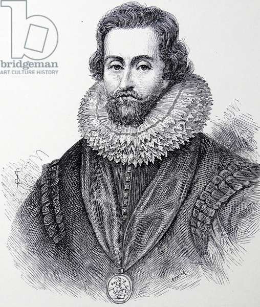 JAMES I of England, VI of Scotland (1565-1625). Became James I of England in 1603 on the death of Elizabeth I