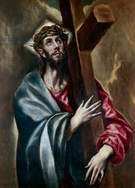 Christ carrying the Cross, c.1602 (oil on canvas)