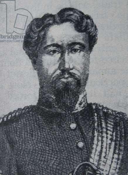 Kamehameha V king of Hawaii 1863-1872