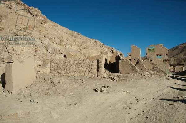 Gardandiwal (Dane Sia Sang) is One of the Many Hazara Bazaar Towns Destroyed by the Taliban, Vardak Province, Afghanistan (photo)