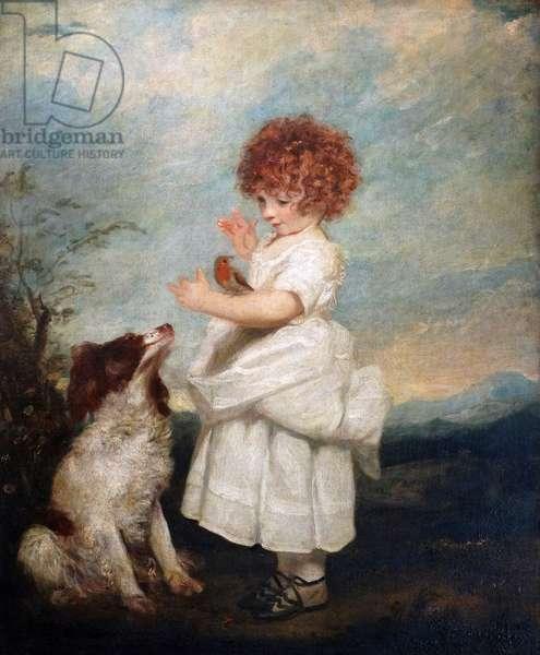 Portrait of Master Philip Yorke by Sir Joshua Reynolds