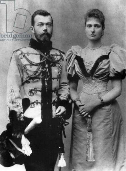 The Royal Couple of Russia, Tsar Nicholas Ll and Tsarina Alexandra Fyodorovna.