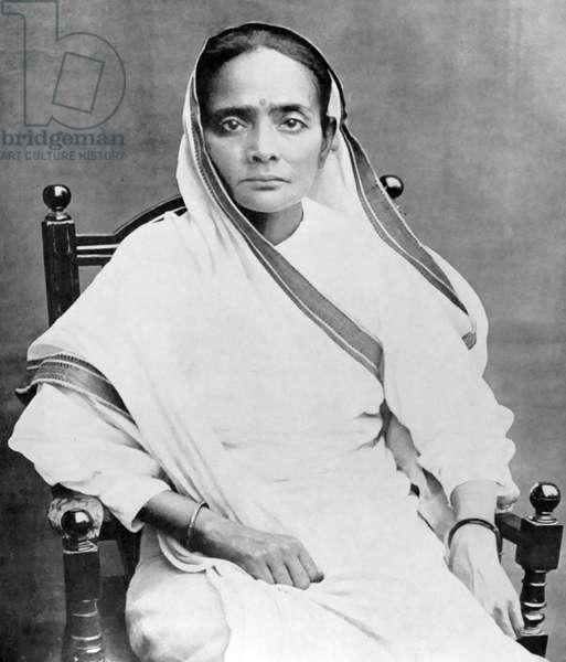 Kasturba Mohandas 'Kasturba' Gandhi (1869 – 22 February 1944)