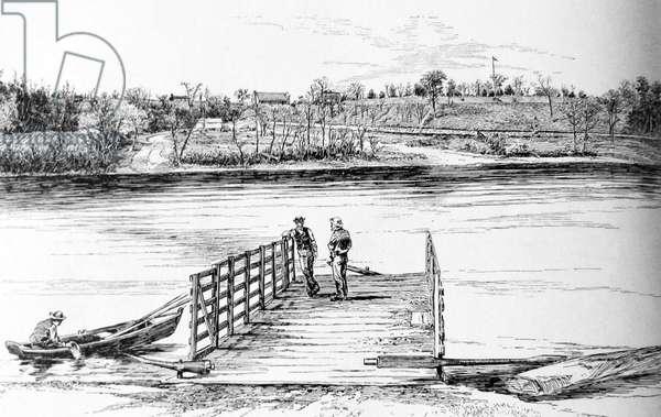 American Civil War, Battle of 1862 Battle of Shiloh or Pittsburg Landing