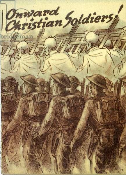 Propaganda. Onward Christian soldiers! 1944