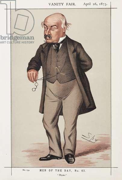 William Jenner, British physician, 1873