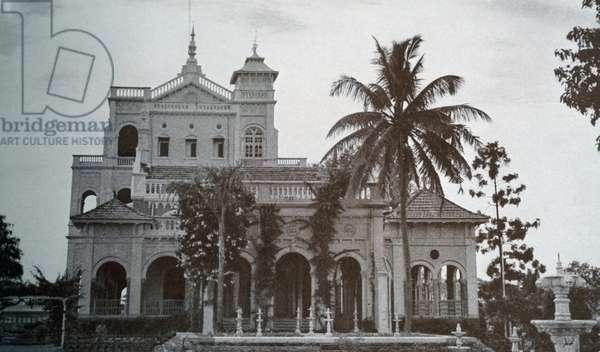 Palace of the Aga Khan, 1943