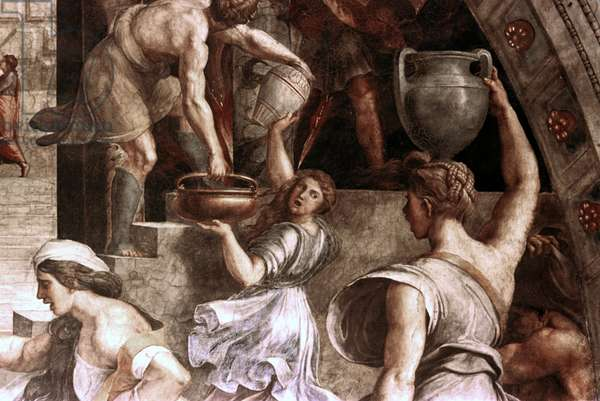 The Fire in the Borgo, 1514 (fresco)