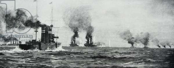 First World War Battle of the Falkland Islands, 1914