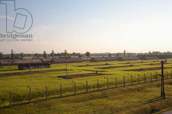 Men's Barracks, Auschwitz-Birkenau Concentration Camp, Oswiecim, Malopolska, Poland (photo)