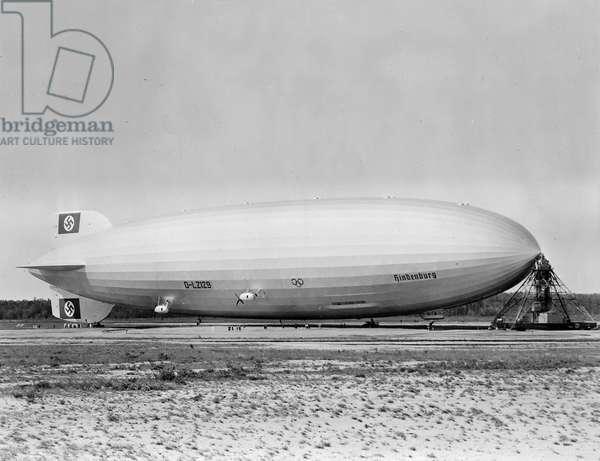 Hindenburg Airship
