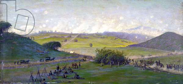 The Battle of Gettysburg,1894