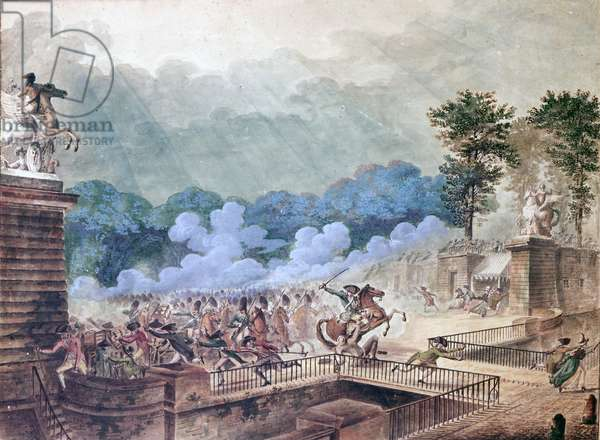 The Charge of Prince de Lambesc