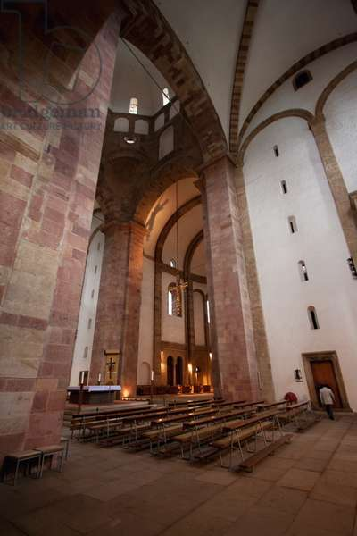 Transept of the Speyer Cathedral, (Officially the Imperial Cathedral Basilica of the Assumption and St Stephen), Speyer, Germany (photo)