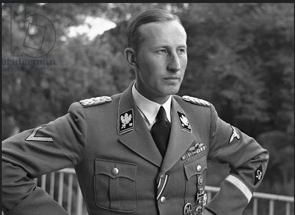 Reynard Heydrich - Holocaust Architect (b/w photo)