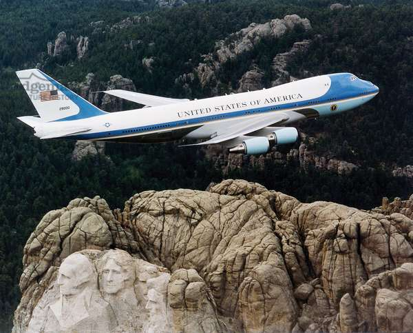 One of the two VC-25s used as Air Force One