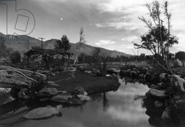 Pool in pleasure park, Manzanar Relocation Center, California, 1943 (photo)