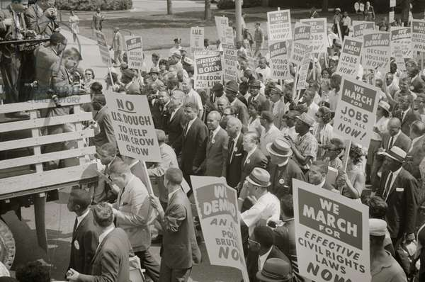 Civil Rights March on DC 1963 (photo)