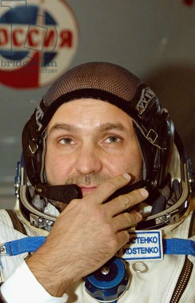 Moscow Region, Russia, September 9, 2005, Member of the Backup Crew of the Iss 12Th Expedition, Russian Cosmonaut Sergei Kostenko.