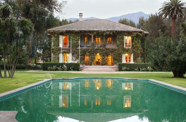 Tarapaca Vineyards Manor House, Chile (photo)