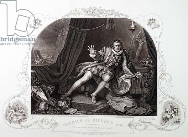 The actor David Garrick