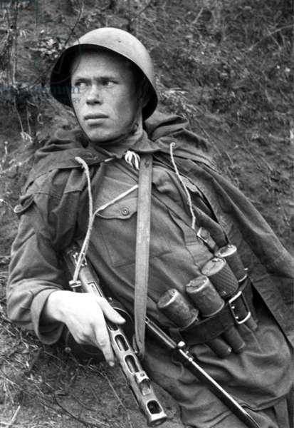 Battle of Stalingrad, 1942, Red Army Scout.