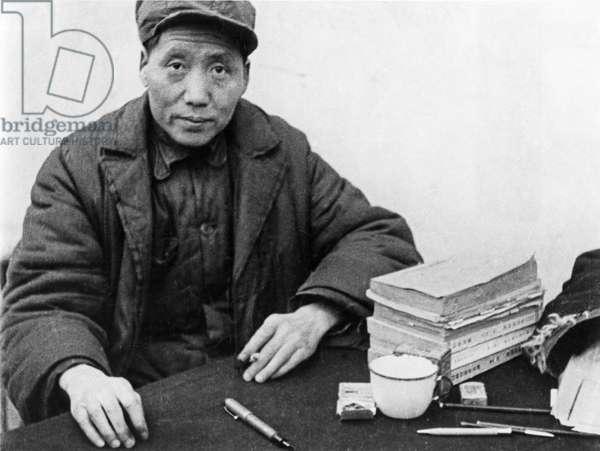 Mao Tse-Tung in 1937 or 1938.