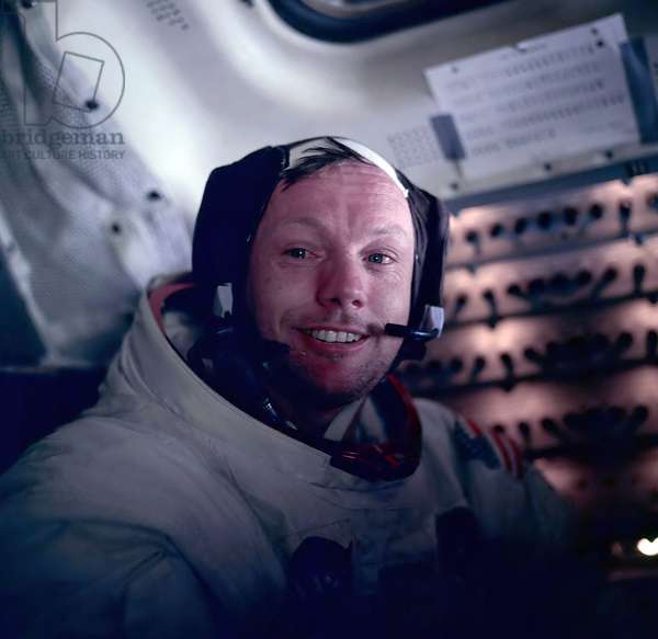 Astronaut Neil Armstrong, 1969