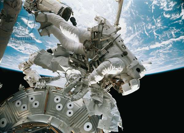 The Space Station 3D Film Shown On The Day Of Cosmonautics
