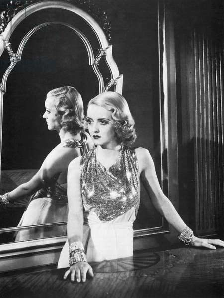 Bette Davis (1908-1989) as an infatuated 'flapper' in The Rich Are Always With Us, 1932