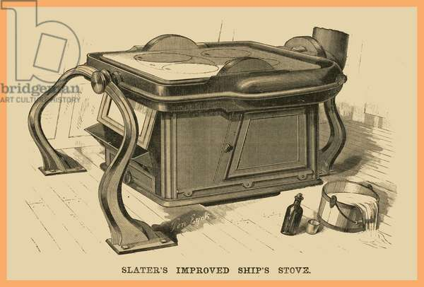 Slaters Improved Ships Stove