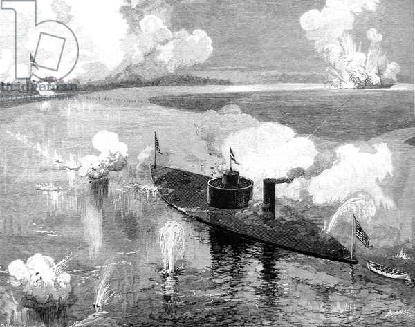 American Civil War-Sinking of the CSS Nashville