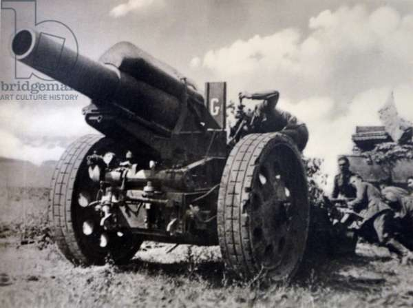 German world war two postcard depicting German army, soldiers
