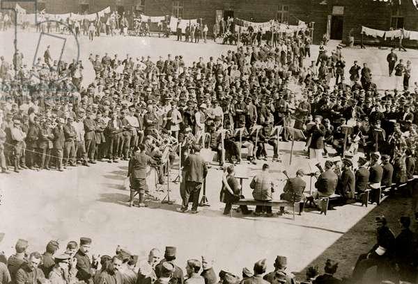 German Prison Camp (photo)