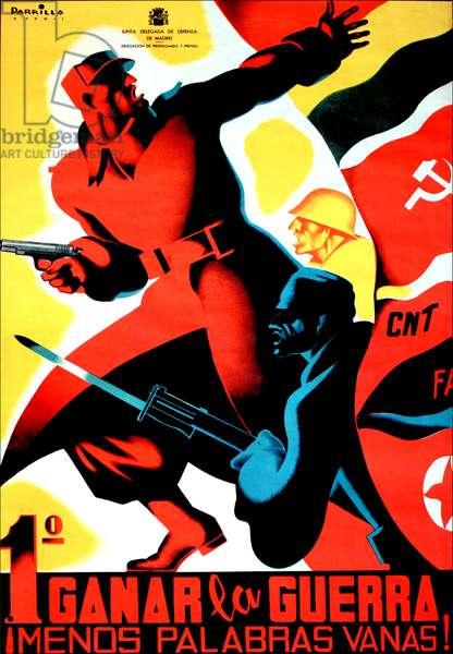 Republican & Communist propaganda poster