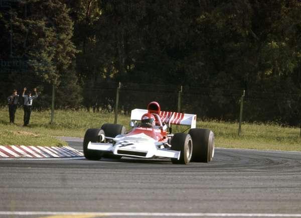 Niki Lauda's Formula 1 debut for the BRM team (photo)
