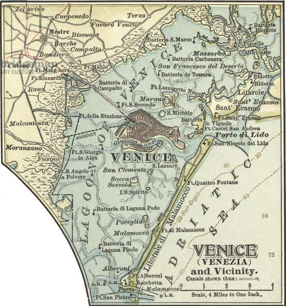 Map of Venice