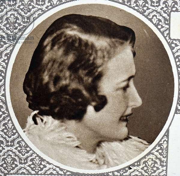 Violet Manners, Duchess of Rutland, 1850