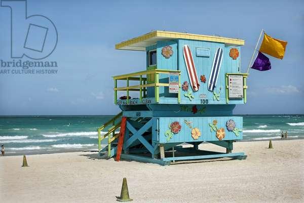 Lifeguard Station, Miami (photo)