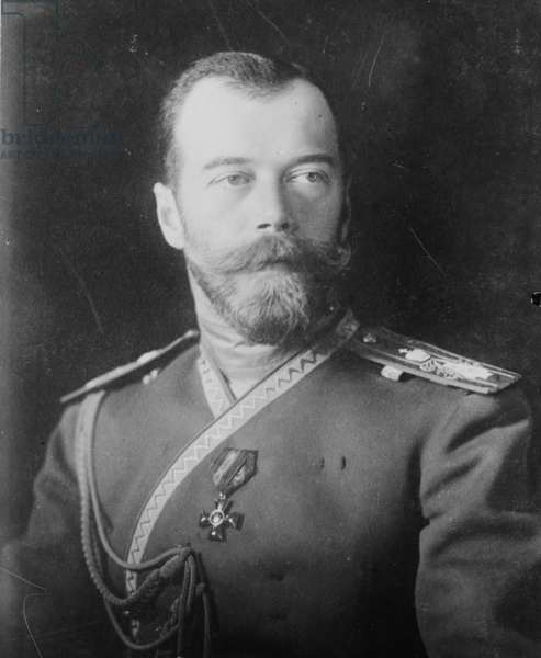 Emperor Nicholas the II, 1900
