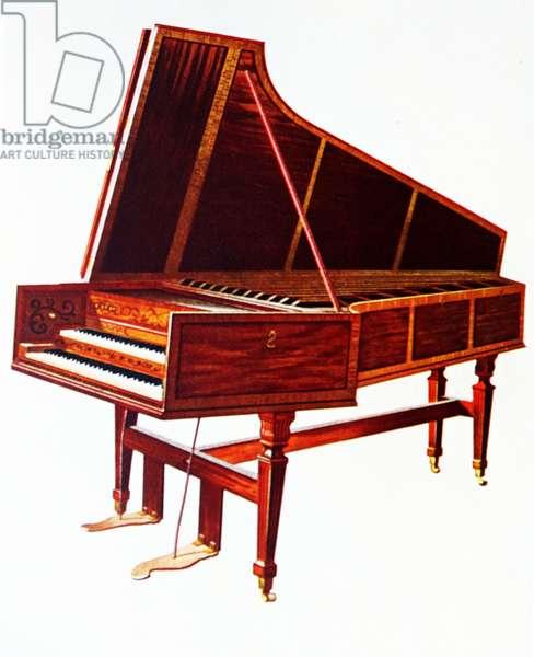 The Empress Harpsichord, 1888