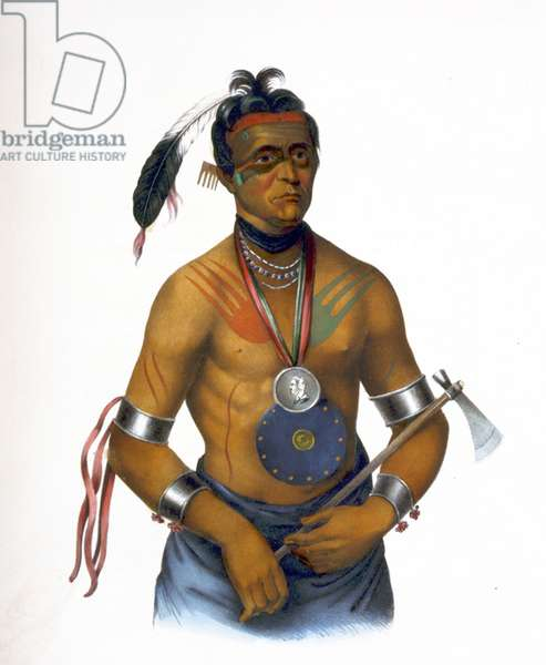 Hiawatha aimed an arrow, 1895
