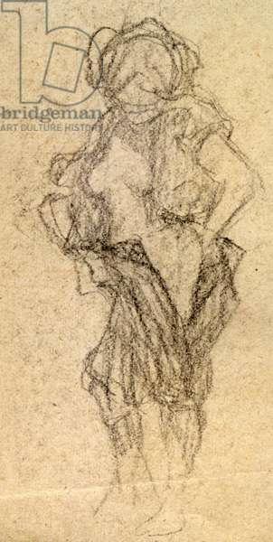 Nude study, c. 1905 (drawing)