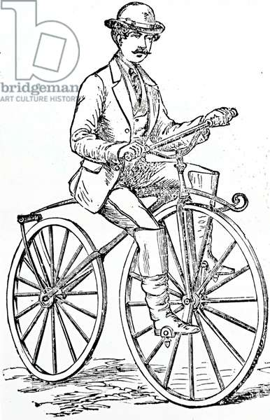 Forder and Travers 'Boneshaker' bicycle