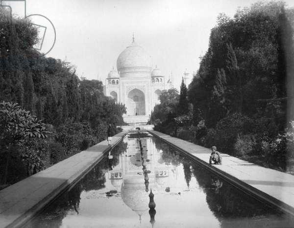 Taj Mahal, 1890