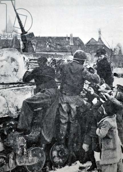 World war two: the liberation of Alsace, France 1944