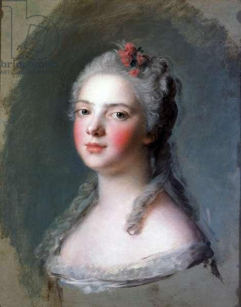 Madame Adelaide de France, 1750 (blue pencil)