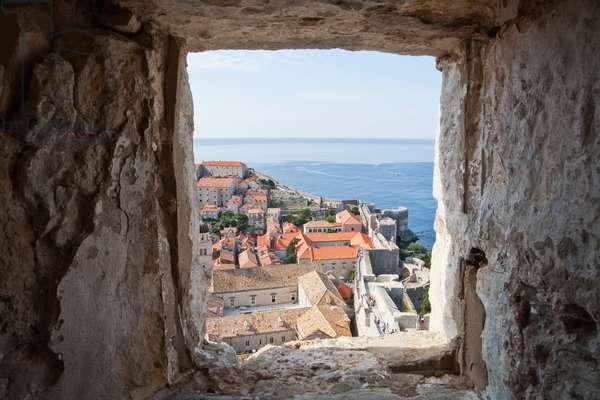 View of Dubrovnik from Fort Minceta, Dubrovnik-Neretva, Croatia (photo)