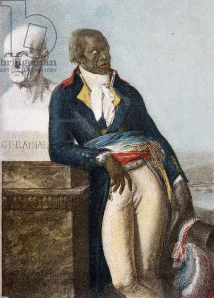 Portrait of Jean Baptiste Belley, Deputy for Saint-Domingue